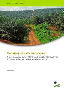 Managing oil palm landscapes