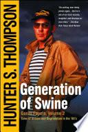 Generation of Swine Book PDF