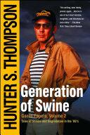 Generation of Swine Pdf/ePub eBook