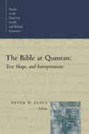 The Bible at Qumran