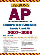 Barron's AP Computer Science, 2007-2008