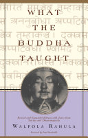 Pdf What the Buddha Taught Telecharger