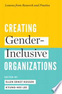 link to Creating gender-inclusive organizations : lessons from research and practice in the TCC library catalog