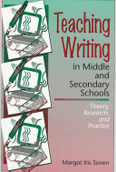 Teaching Writing In Middle And Secondary Schools