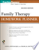 Family Therapy Homework Planner, Second Edition