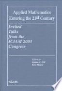 Applied Mathematics Entering The 21st Century Book PDF