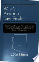 West's Arizona Law Finder