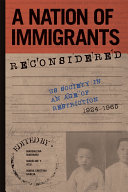 A Nation of Immigrants Reconsidered Pdf/ePub eBook