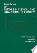 Handbook On Metals In Clinical And Analytical Chemistry Book PDF