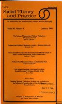 Social Theory and Practice - Band 30,Ausgaben 1-4 - Seite 445