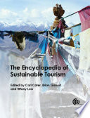 """The Encyclopedia of Sustainable Tourism"" by Carl I Cater, Brian Garrod, Tiffany Low"