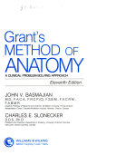 Cover of Grant's Method of Anatomy