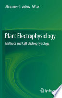 Plant Electrophysiology Book PDF