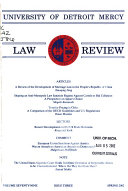 University of Detroit Mercy Law Review
