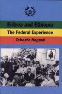 Eritrea and Ethiopia [Pdf/ePub] eBook