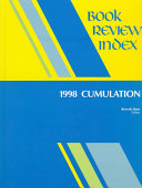 Pdf Book Review Index 1998 Cumulation