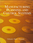 Manufacturing Planning And Control Systems Book PDF