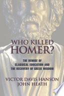 Who Killed Homer  Book PDF