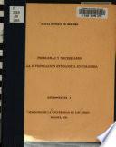 Problemas y necesidades de la investigación etnológica en Colombia