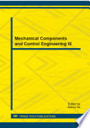 Mechanical Components And Control Engineering Iii Book PDF
