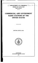Commercial and Government Radio Stations of the United States