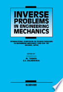 Inverse Problems in Engineering Mechanics Book