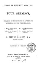 Christ in eternity and time, 4 sermons