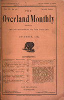 Pdf The Overland Monthly