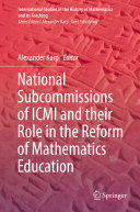 Pdf National Subcommissions of ICMI and their Role in the Reform of Mathematics Education Telecharger