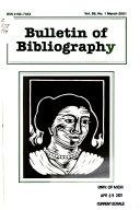 Bulletin of Bibliography