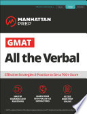 GMAT All the Verbal Book