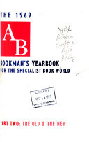 Ab Bookman S Yearbook Book