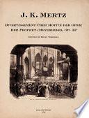 Divertissement Ber Motive Der Oper Der Prophet Meyerbeer Op 32