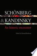 Sch Nberg And Kandinsky
