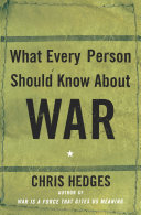 What Every Person Should Know About War [Pdf/ePub] eBook