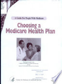 Choosing a Medicare Health Plan Book