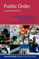 Public Order  Law and Practice