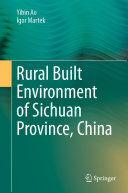 Rural Built Environment of Sichuan Province  China