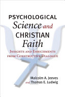Psychological Science and Christian Faith Book PDF
