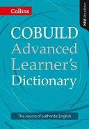 Collins COBUILD Advanced Learner s Dictionary