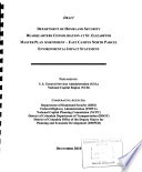 Department of Homeland Security Headquarters Consolidation at St. Elizabeths Master Plan Amendment, East Campus North Parcel