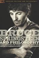 Bruce Springsteen and Philosophy Pdf/ePub eBook
