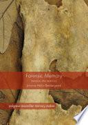 Forensic Memory Book