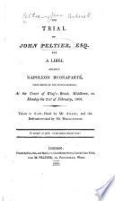 The Trial of John Peltier