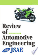 Review of Automotive Engineering Vol.29 No.4