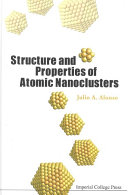 Pdf Structure and Properties of Atomic Nanoclusters Telecharger