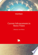 Current Advancements in Stereo Vision Book