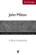 John Milton: A Short Introduction