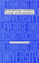 Rethinking the University
