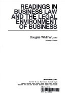 Readings in Business Law and the Legal Environment of Business Book PDF
